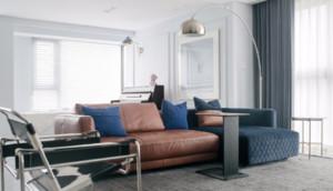 現代復式家庭客廳裝修效果圖
