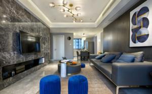 舒適現代簡約風格客廳裝修效果圖