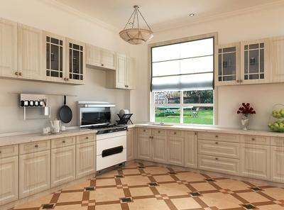 厨房地面瓷砖装修效果图