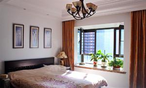 现代两居室卧室飘窗 全球最大博彩