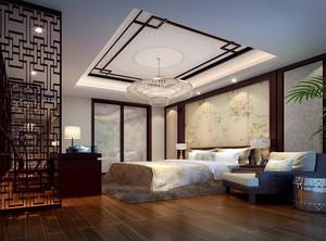 中式臥室裝修設計效果圖