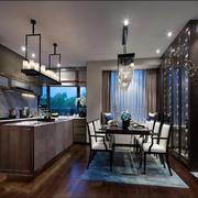 别墅厨房装修设计图