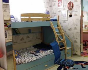 温馨多彩儿童房装修效果图