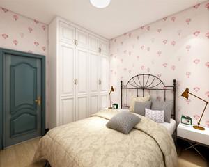 欧美风格可爱儿童房装修效果图