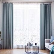 北欧风格窗帘装饰效果图