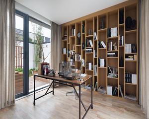 现代休闲书房装修效果图