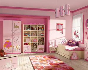 欧美风格大户型儿童房装修效果图