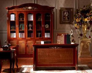 美式简约书房装修效果图