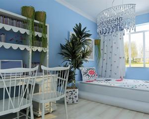 简约欧式风格儿童房装修效果图