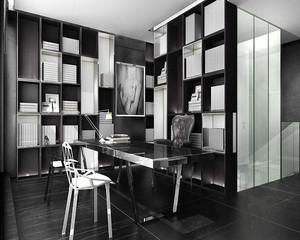 30㎡后现代书房装修效果图