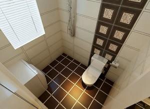 小户型卫生间装修俯视图