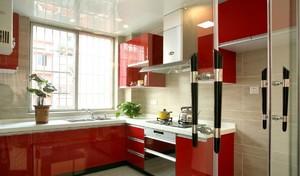 厨房橱柜颜色装饰效果图