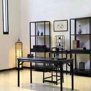 书房中式家具大户型装修