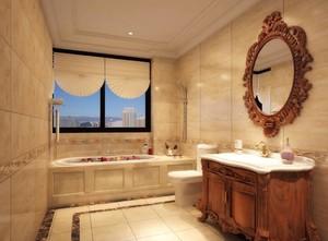 欧式风格卫浴装修效果图