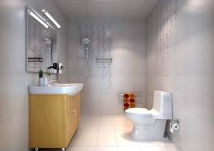 卫生间简约装修设计效果图