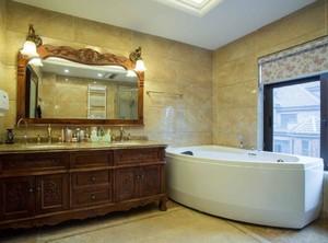 欧式风格别墅浴室装修设计效果图
