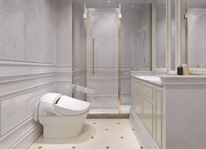 新欧式卫生间豪华装修效果图