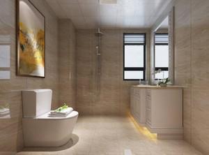 别墅卫生间瓷砖装修效果图