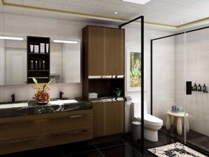 别墅卫生间收纳设计效果图