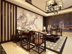 中國傳統客廳裝修效果圖