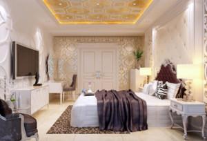 现代欧式风格卧室背景墙装修?#35745;?#36175;析