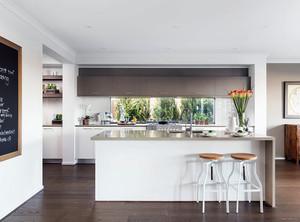 大户型开放式厨房装修效果图