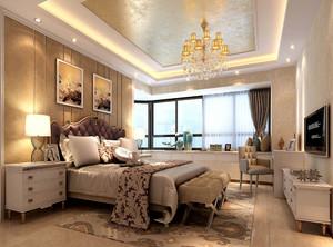 现代大户型卧室装修效果图