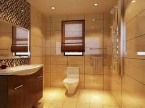 卫生间简单装饰效果图