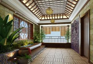走廊式入户花园