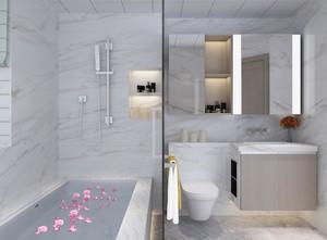 现代风格卫生间浴缸设计图片