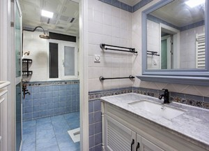 大户型美式风格卫生间设计
