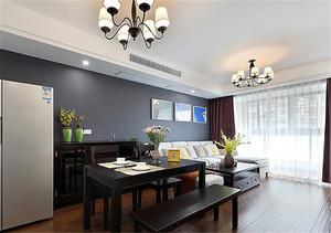 现代直线型客厅装修下效果图