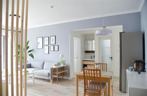 日式北欧风格客厅装修效果图