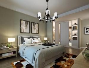 简欧卧室设计图