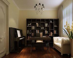 小户型现代书房装修效果图