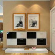客厅精致鞋柜110平米装修