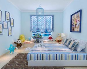 简约风格多彩儿童房装修效果图赏析