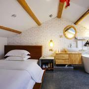 卧室现代阁楼跃层装修