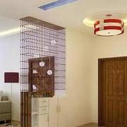 客厅中式玄关小户型装修