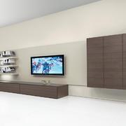 客厅现代背景墙大户型装修