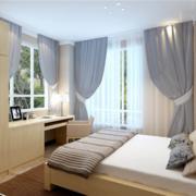 卧室简约家具小户型装修