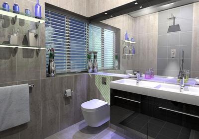 6平方长方形卫生间装修效果图