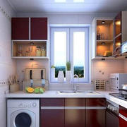 厨房现代局部小户型装修
