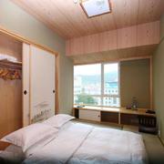 卧室日式局部小户型装修