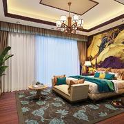 卧室东南亚家具80平米装修