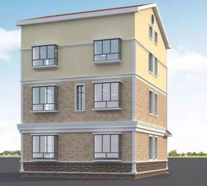 160平米4层上海新农村别墅设计图