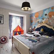 儿童房简欧壁纸小户型装修
