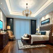 卧室美式局部一居室装修
