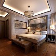 卧室中式家具80平米装修