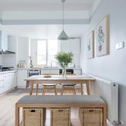 厨房现代家具70平米装修